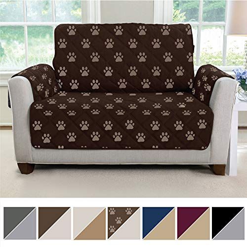 MIGHTY MONKEY Premium Reversible Chair and a Half Slipcover, Seat Width to 48