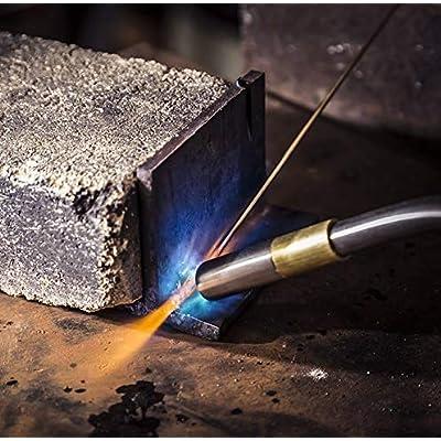 Zerodis Turbo Torch Tips, Gas Self Ignition Turbo Torch Regulator Brazing Soldering Welding Plumbing Gun Tool Home Accessory: Home & Kitchen
