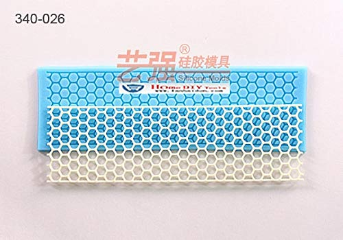 (1 piece Mesh Honeycomb Fondant cake mold silicone sugar lace mould sugar mat decoration for wedding cake)