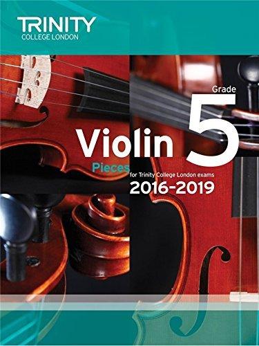 Trinity College London: Violin Exam Pieces - Grade 5 (2016-2019) (Score & Part). Partitions Pour Violon, Accompagnement Piano