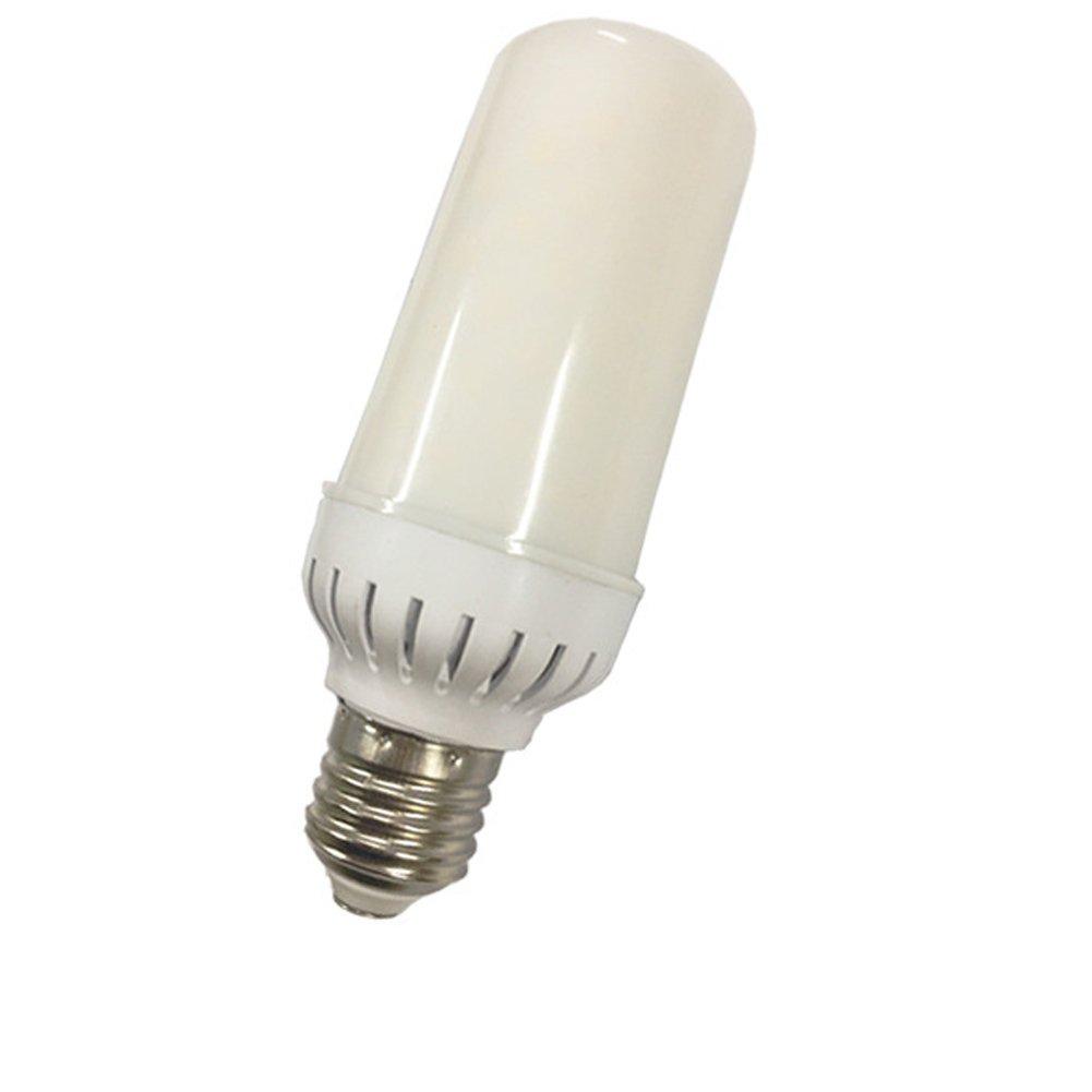 Led Flame Effect Light 3 Arten Von Lichtern PC Lampenschirm + BPT Lampenkörper Flammeneffektlicht Blinkendes Leicht Und Sanft [Energieklasse A+] 001
