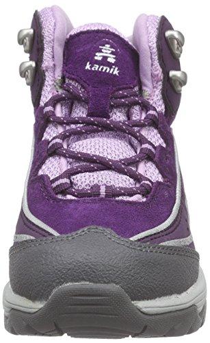 Kamik LION2G - botas de senderismo de cuero Niños^Niñas Morado