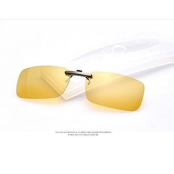 Zimo - Lentes de gafas de sol polarizadas, con clip, unisex, accesorio para