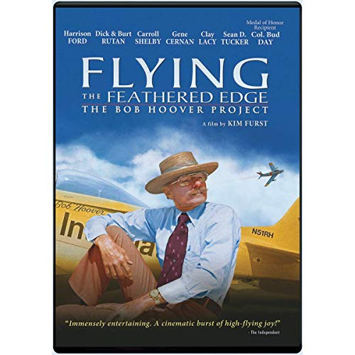 Flying the Feathered Edge: The Bob Hoover Project DVD (Ole Yeller Artwork)