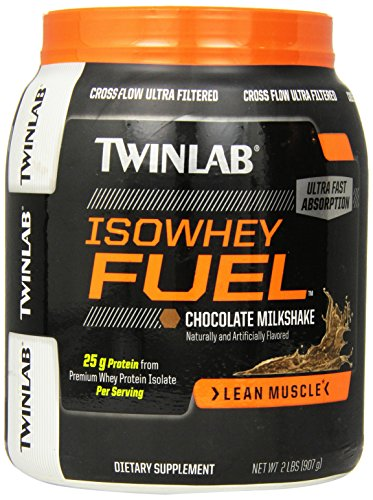 Twinlab ISOWhey carburant Protéines en poudre, chocolat, 2 Pound