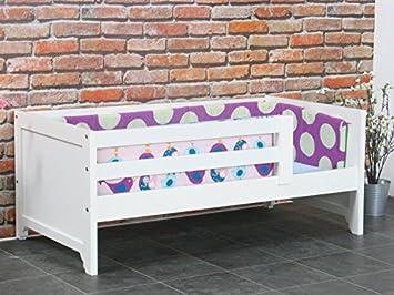 Kinderbett weiß 70x140  Kinderbett Roomate + Lattenrost 70x140 Kinder Kinderzimmer Bett ...