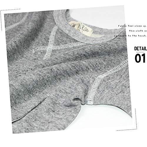 6bbccd9ef1f34 Amazon.co.jp: (メイクユアデイ)make your day ポケット付きガゼットトレーナー  服&ファッション小物