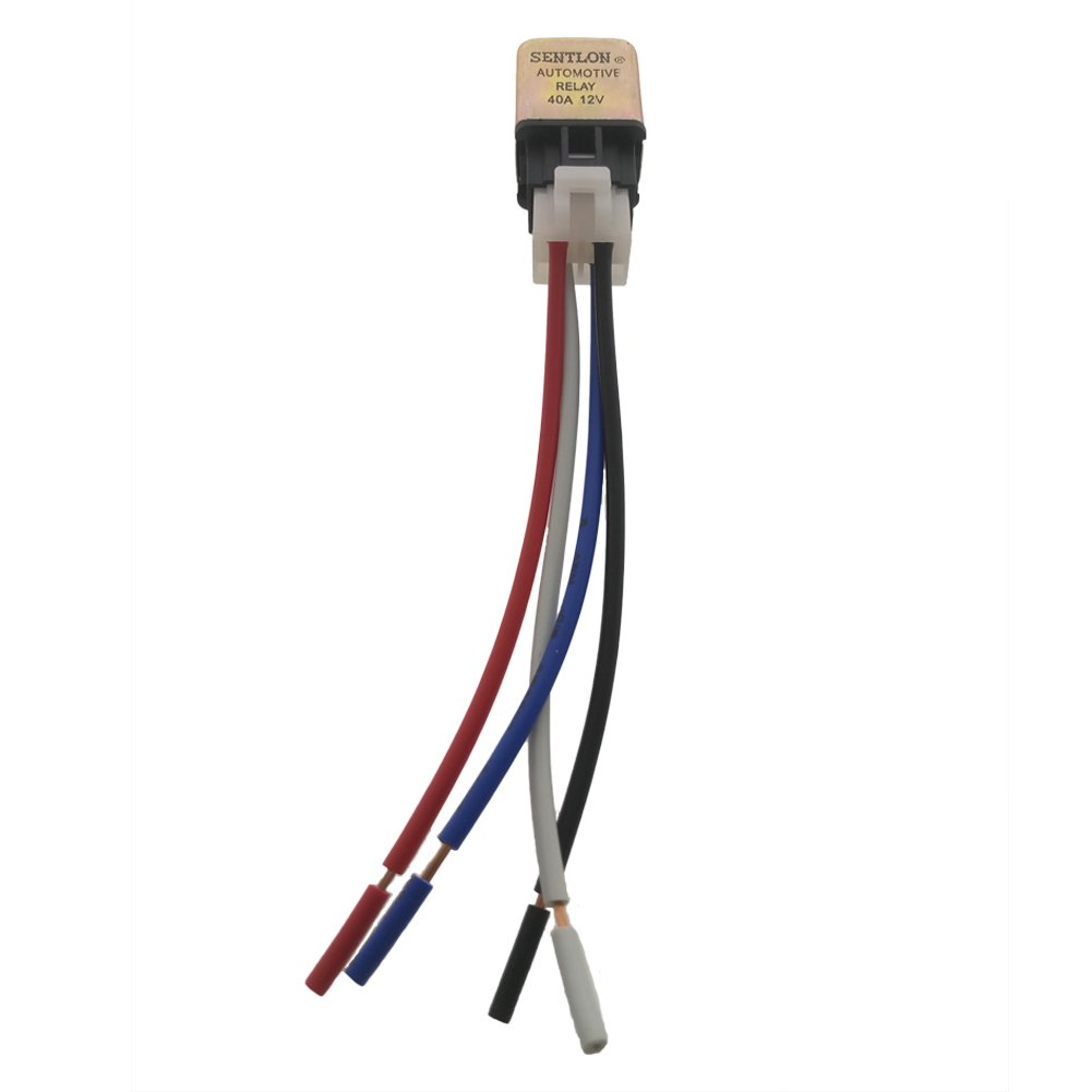 Zyhw Dc 12v 40a 4 Pin Car Auto Power Relay W Wire How To Harness Socket Automotive