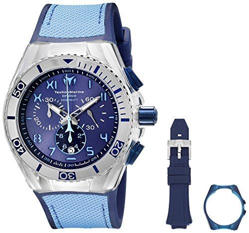 Technomarine Men's TM-115069 Cruise California Analog Display Swiss Quartz Blue Watch