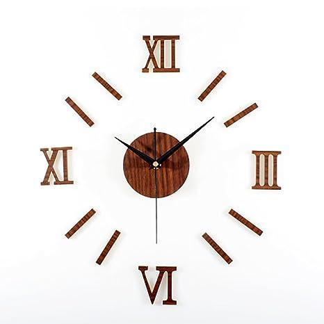 LIU-Creativo Retro de Moda Reloj de Pared de la Sala de Estar Dormitorio Auto