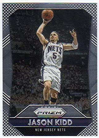 b4fc12e45 Amazon.com  2015-16 Panini Prizm Basketball  267 Jason Kidd NJ Nets   Collectibles   Fine Art