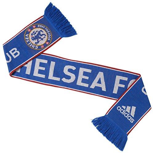 adidas Chelsea FC Scarf Chelsea Blue/Night Indigo/White