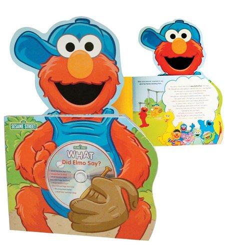 Read Online Sesame Street What Did Elmo Say? (Sesame Street Lap Books) pdf epub