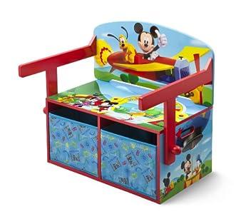 Delta Children Banc Bureau 3 En 1 Mickey Très Beau Et Pratique