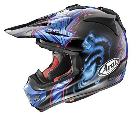 Arai VX-Pro 4 Barcia Black/Blue Motocross Helmet - X-Large ()