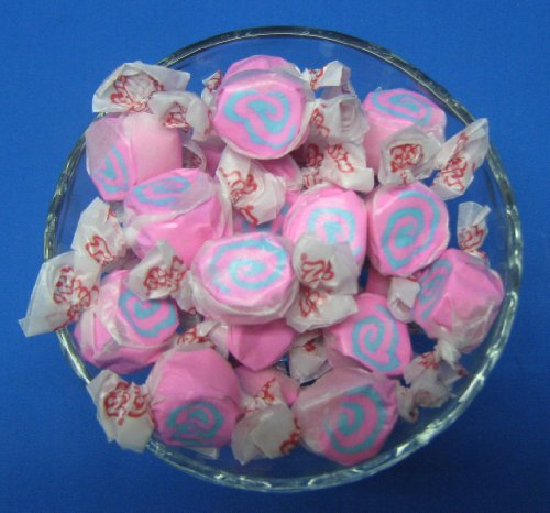 Cotton Candy Flavored Taffy Town Salt Water Taffy 2 Pounds