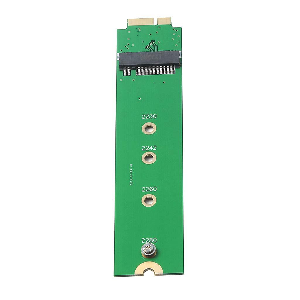 B Blesiya Tarjeta Adaptadora SSD de 1 Pieza M.2 NGFF para Macbook Air Mano de Obra Exquisita Industria Ciencia Creativo