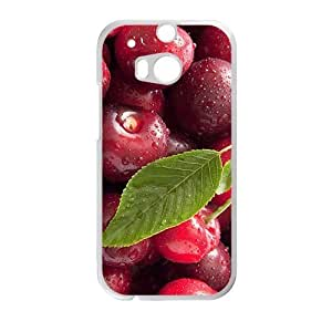 Fresh red berry nature style fashion phone case for HTC One M8