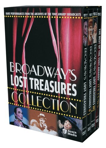 Broadway's Lost Treasures Collection (Broadway's Lost Treasures 1-3 & The Best of the Tony Awards - The Plays) by Julie Andrews by Acorn Media