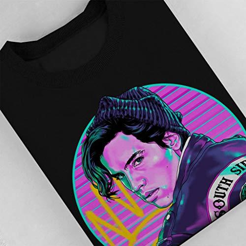 Black Archie Cloud Jones Graffiti Jughead Sweatshirt Men's City 7 Riverdale xHnqHPz