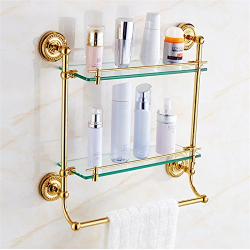 Bathroom wall is set bathroom accessories european style for Bronze and gold bathroom accessories