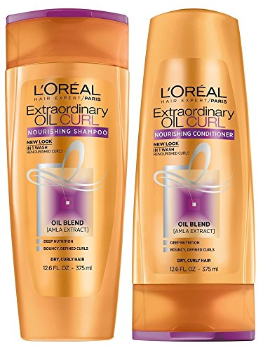 L'Oreal Paris Extraordinary Oil Curls Shampoo and...