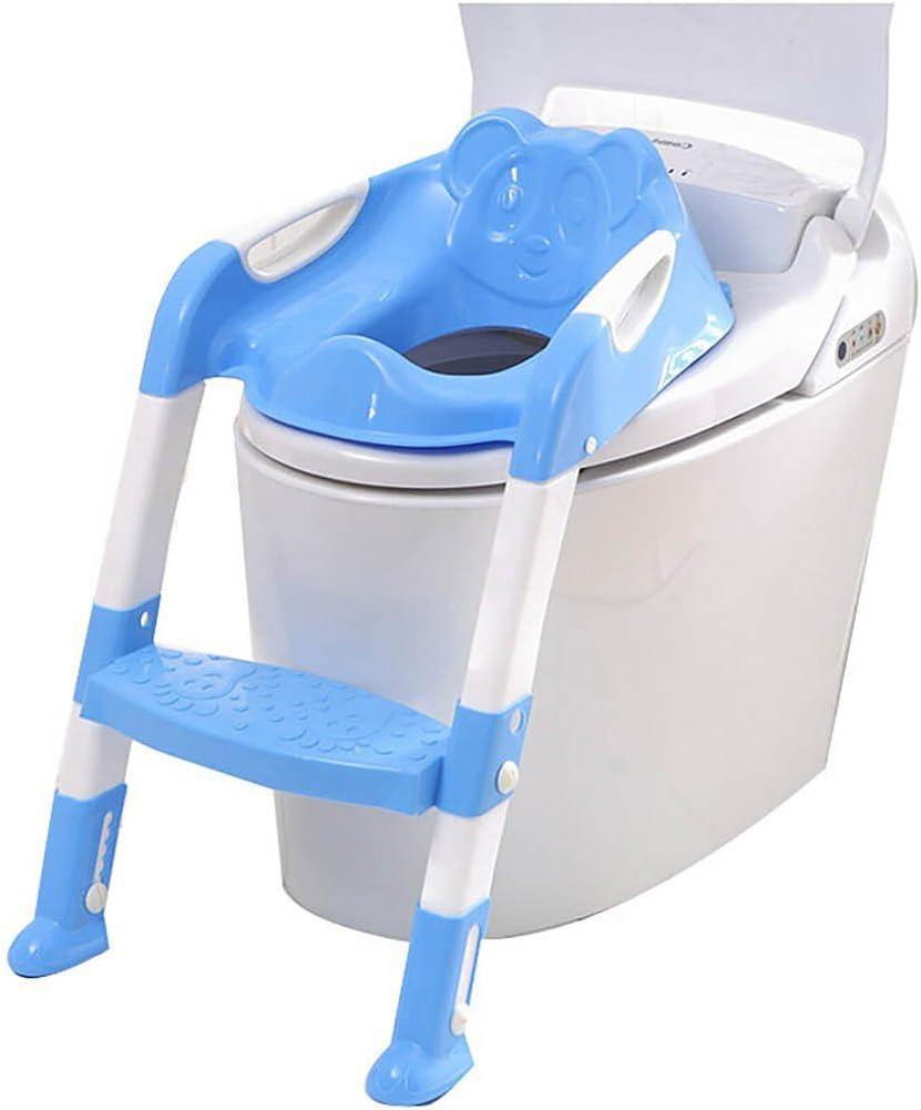 Ruikey Asiento Inodoro Niños Asiento Inodoro Niños Escalera Orinales para Niños para WC con Escalón Plegable Orinal Formación: Amazon.es: Hogar