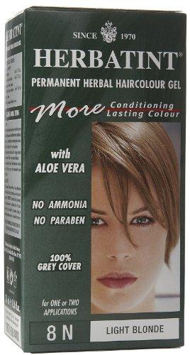 Hair Coloring - (8N) Light Blonde, 4 oz ( Multi-Pack) by Herbatint