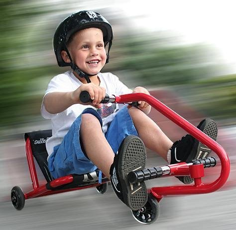 Ezyroller Junior Ride On for Ages 2 to 4 Years Red 130008