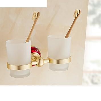 baño Tumbler/Estantes de baño/ portavasos diente/El cepillo de dientes taza-H: Amazon.es: Bricolaje y herramientas