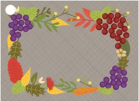 [해외]Fall Foliage Theme Card (6 Pack ) 3-34 x 2-34 / Fall Foliage Theme Card (6 Pack ) 3-34 x 2-34