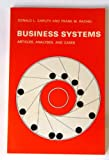 Business Systems, Donald L. Caruth and Frank M. Rachel, 0063823551