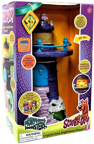 Scooby Doo Crystal Cove Glow-in-the-dark Scary Sound Effects Fright House Play Set
