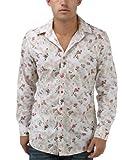Joe Browns Men's Laidback Floral Shirt, Multi, Large