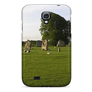 Awesome Avebury Stones Flip Case With Fashion Design For Galaxy S4