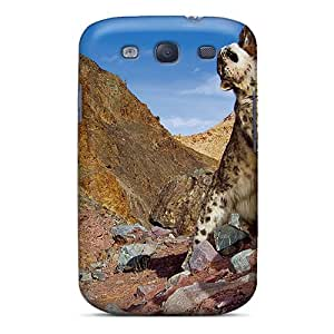 Snow Leopard Scratching Case Compatible With Galaxy S3/ Hot Protection Case