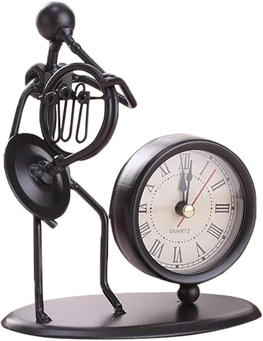 LINSINCH Reloj Despertador Retro, analógico, de Cuarzo, con Alarma ...