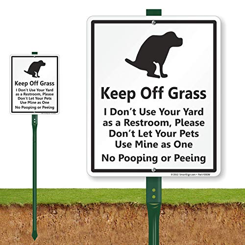 Dog Not Pooping - SmartSign