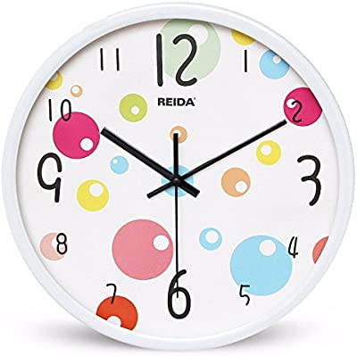 Amazon Com Kids Wall Clock Ocean Theme Children Room Art