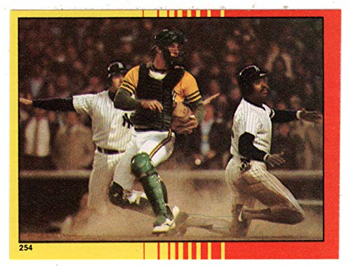 - 1981 American League Championship (Baseball Card) 1982 Topps Stickers # 254 M/MT