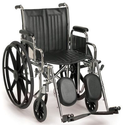 """Breezy EC 2000 Wheelchair Seat Size: 18"""" W, Front Rigging: S"""