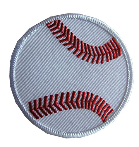 3'' Embroidery Iron On/Sew On Baseball Applique Patch by ade_patch