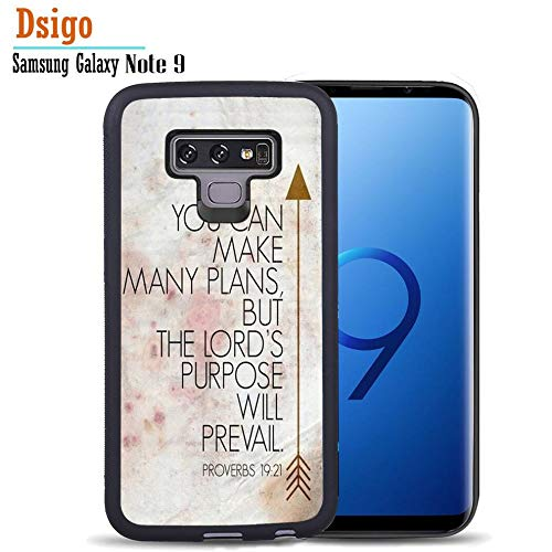(for Samsung Note 9 Case, Dsigo TPU Black Full Cover Protective with Samsung Galaxy Note 9 6.4