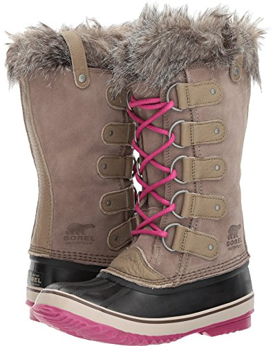 Sorel Frauen Joan Of Arctic Boot Pebble / tiefes Erröten