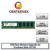 1GB RAM Memory for Evesham Solar SX100 (DDR26400 NonECC) Desktop Memory Upgrade by US Seller