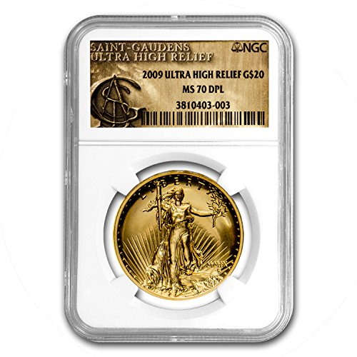 2009 Ultra High Relief Double Eagle MS-70 DPL NGC Gold MS-70 NGC
