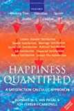 img - for Happiness Quantified: A Satisfaction Calculus Approach:2nd (Second) edition book / textbook / text book