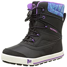 Merrell Girls Snow Bank 2.0 WTRPF Waterproof Snow Boot (Toddler/Little Kid/Big Kid)