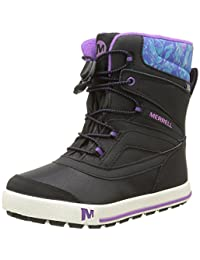 Merrell Girls Snow Bank 2.0 WTRPF Waterproof Snow Boot (Toddler/Little Kid/Big Kid)