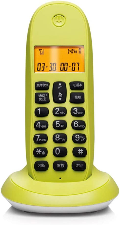Health UK Teléfono- Teléfono inalámbrico Digital, Office Extension Home Wireless Landline Intercom Welcome: Amazon.es: Hogar